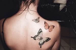 Tatouage Papillon Signification : signification tatouage papillon mieux utiliser son argent ~ Melissatoandfro.com Idées de Décoration