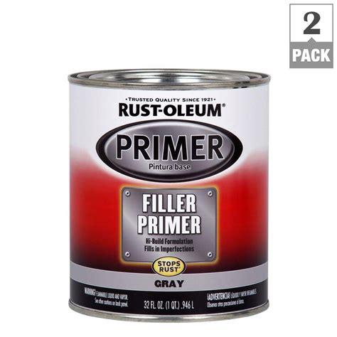 Rustoleum Automotive 1 Qt Gray Filler Primer (2pack