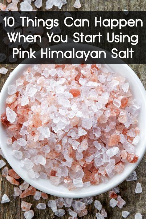 happen   start  pink himalayan salt
