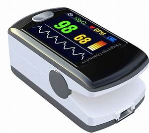 Cms50ew Fingertip Pulse Oximeter With Bluetooth  Oled