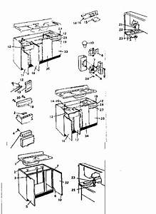 Kenmore Harmony House Cabinet  U0026 Sink Cabinet Parts