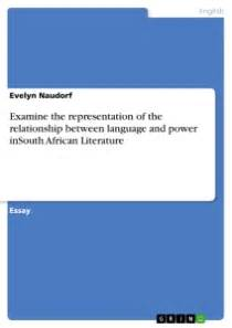 Examine the representation of the relationship between language Publish your master's