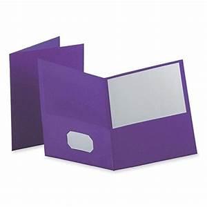 oxford twin pocket folders letter size purple 25 per With letter size pocket folders