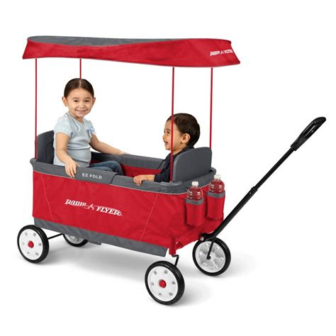folding wagon with canopy ultimate ez folding wagon with canopy radio flyer