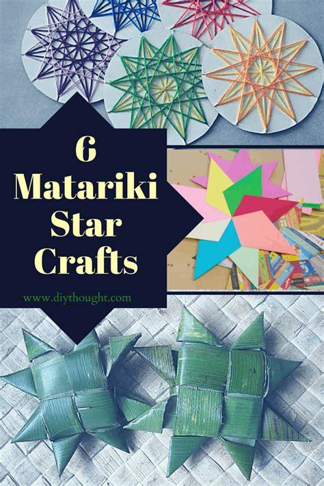 matariki star crafts diy thought
