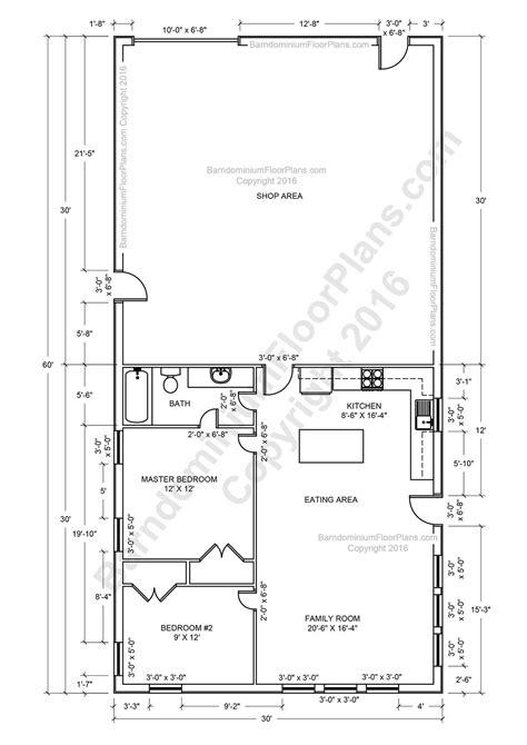 barndominium floor plans pole barn house plans  metal barn homes barndominium floor p
