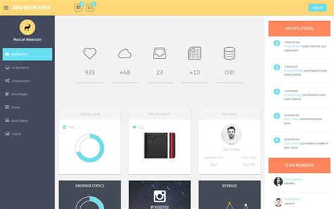 free bootstrap templates 2017 80 best free bootstrap admin templates 2018 for webapp pixinvent