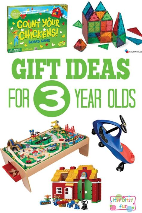 Gifts For 3 Year Olds  Itsy Bitsy Fun