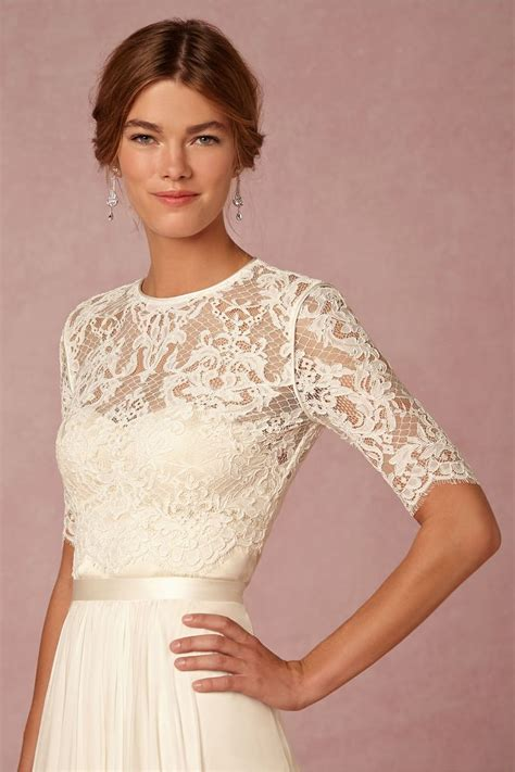 Dasha Topper Lace Cover Up Wedding Wedding Dress Topper