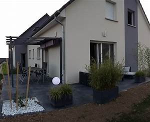amenagement entree de maison exterieur affordable bar de With amazing idee amenagement exterieur entree maison 2