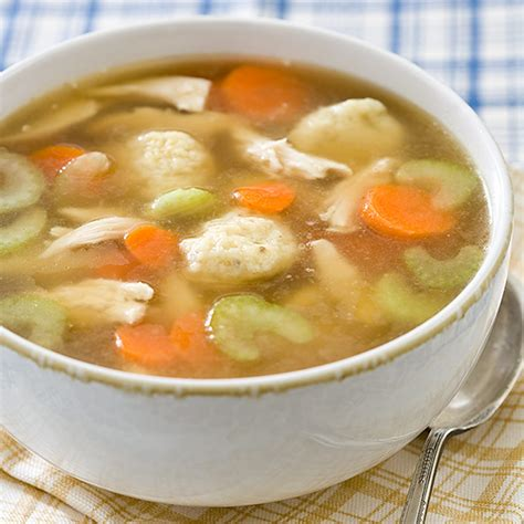 cooking chicken in broth quick chicken and dumpling soup recipe cook s country