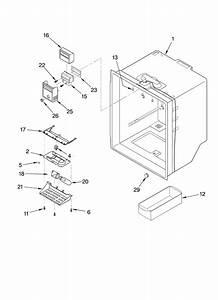 Whirlpool Refrigerator Freezer Door Parts