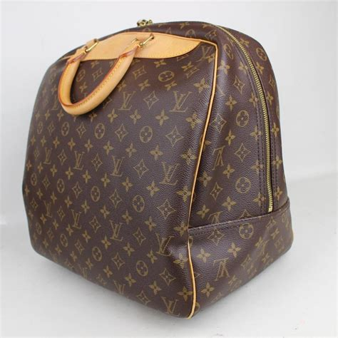 louis vuitton monogram evasion carry  travel luggage