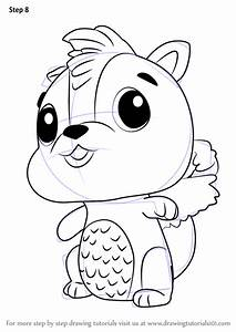 Learn How To Draw Skunkle From Hatchimals  Hatchimals  Step By Step   Drawing Tutorials