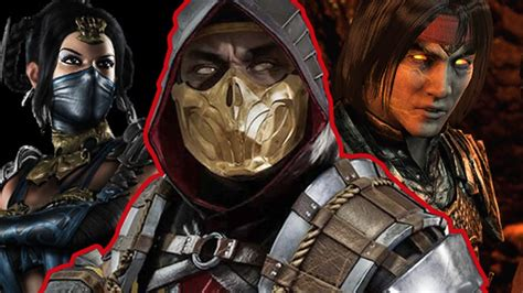 Mortal Kombat 11 All 20 Characters Confirmed So Far Youtube