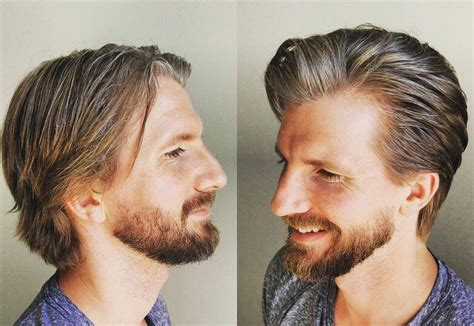 how to style mens hair best medium length s hairstyles