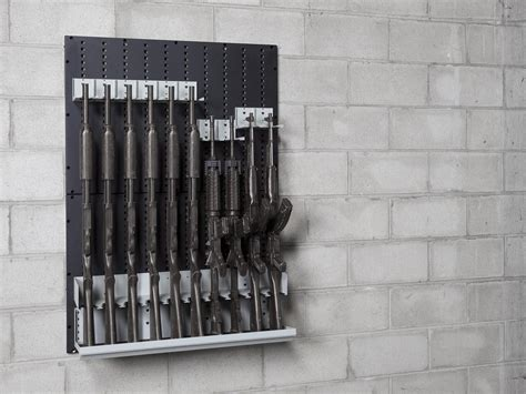 Make Your Own Gun Cabinet by Weapon Wall Panels Ddp Iwsp Integrated Weapon Storage