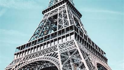 Tower Eiffel Paris Architecture France 4k Background