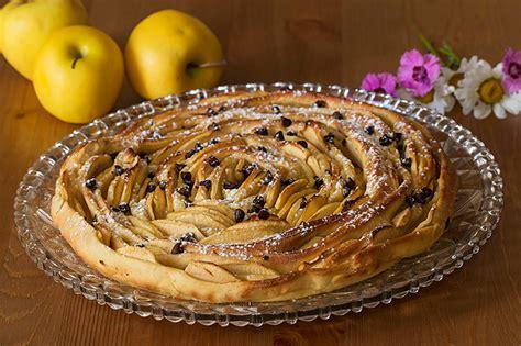 recette de cuisine cubaine tarte briochée aux pommes en spirale