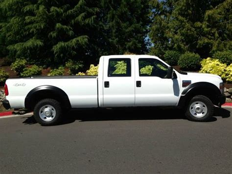 Buy used 2008 FORD F250 CREW CAB 8FT bed 6.4 powerstroke