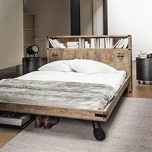 Tete De Lit Bois 180 : 20 t tes de lit pour votre chambre c t maison ~ Teatrodelosmanantiales.com Idées de Décoration