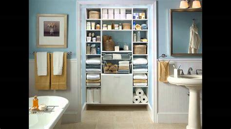 small bathroom closet ideas youtube