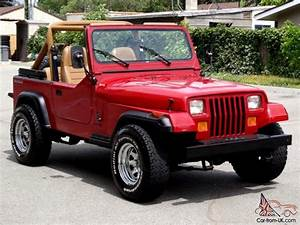 1987 Jeep Wrangler Yj One Owner Low Miles 6