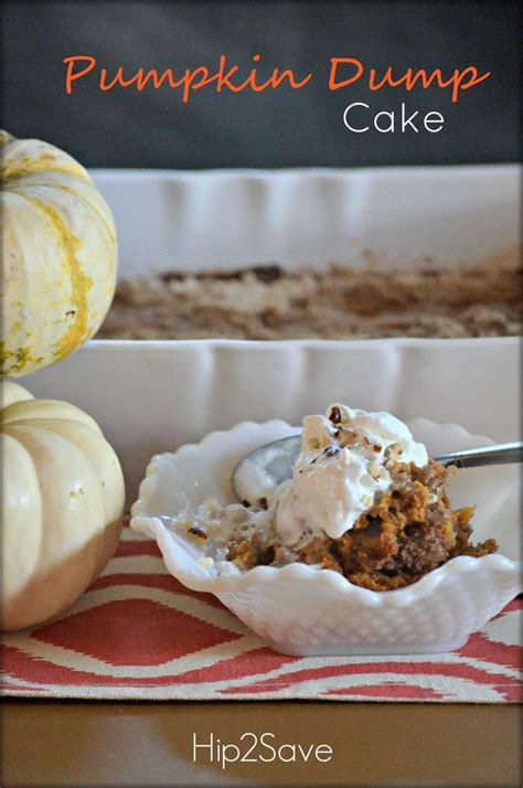 pumpkin dump cakes ideas  pinterest pumpkin