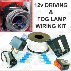Car Driving Fog Lamps Lights Fitting Wiring Kit Wire