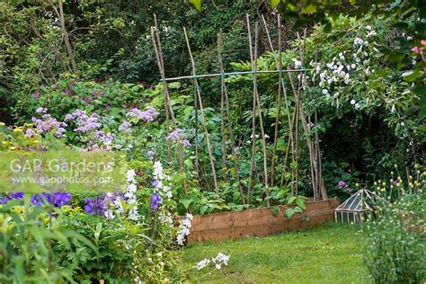 Gap Gardens  A Cottage Garden With Raised Vegetable Bed
