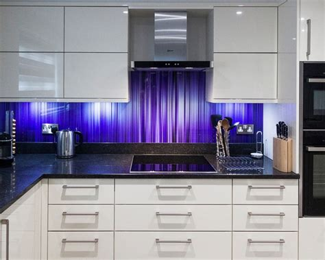 glass splashbacks  kitchens  bristol