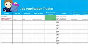 Job application tracker spreadsheet free download for Application tracker