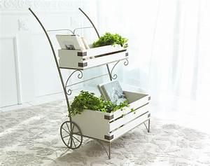 Plante Pour Appartement : porte plantes brouette becquet ~ Zukunftsfamilie.com Idées de Décoration