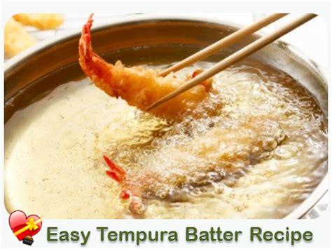 how to make tempura batter easy tempura batter for seafood or veggies cooking island style pinterest tempura