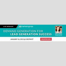 Demand Gen Vs Lead Gen What's The Difference?  Marketing Mojo