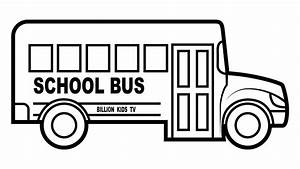School bus coloring pages, colors for kids with vehicles ...