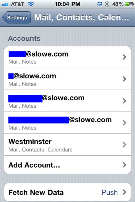 exchange email on iphone add a second exchange account to your iphone 4 techrepublic