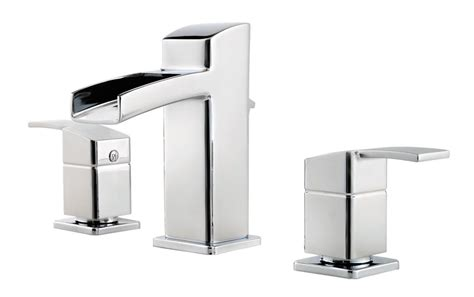 Pfister Kamato 8-inch Widespread Bathroom Faucet In Polished Chrome Finish