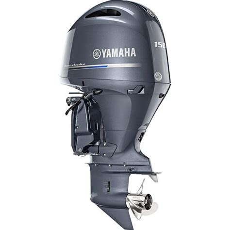 Yamaha Boat Motors Four Stroke by Yamaha 150 Hp Outboard Motor Inline Four Four Stroke
