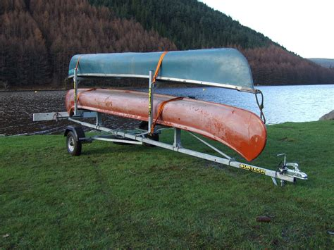 Canoes Trailers by C2 Side Loader Canoe Kayak Trailer Mountain Bike Trailers