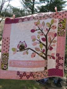 Girl Owl Baby Quilt Patterns