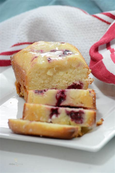 lemon raspberry loaf bread recipe  idea room