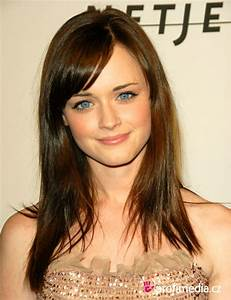 Celebrity Alexis Bledel Long Wavy Hairstyle Wallpaper ~ Prom Hairstyles