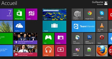 afficher bureau windows 8 comment afficher l icone bureau windows 8