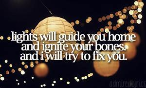 Coldplay Fix You By Quotes. QuotesGram