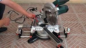 Scie À Onglet Radiale Metabo : metabo kgs 254 m mod le 2015 scie onglets radiale youtube ~ Voncanada.com Idées de Décoration