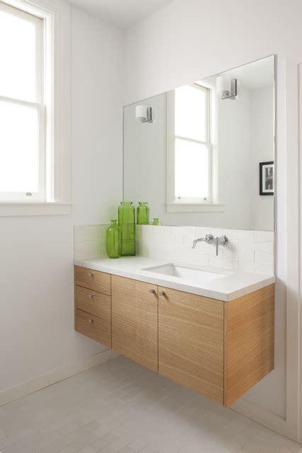 awesome floating bathroom vanity idea  storage  frameless mirror ideas bano floating