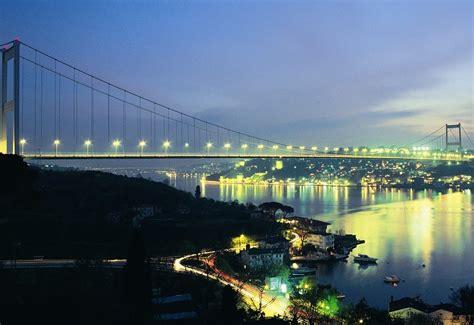 istanbul turkey bosphorus bridge wallpapers hd