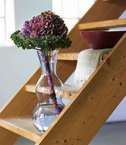 Einzelne Blume Vase : einzelne blume in grosser vase ~ Indierocktalk.com Haus und Dekorationen