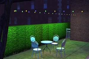 mod the sims multicolored party lights With sims 3 outdoor string lights